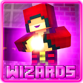 Wizards Addon for MCPE 0.16+
