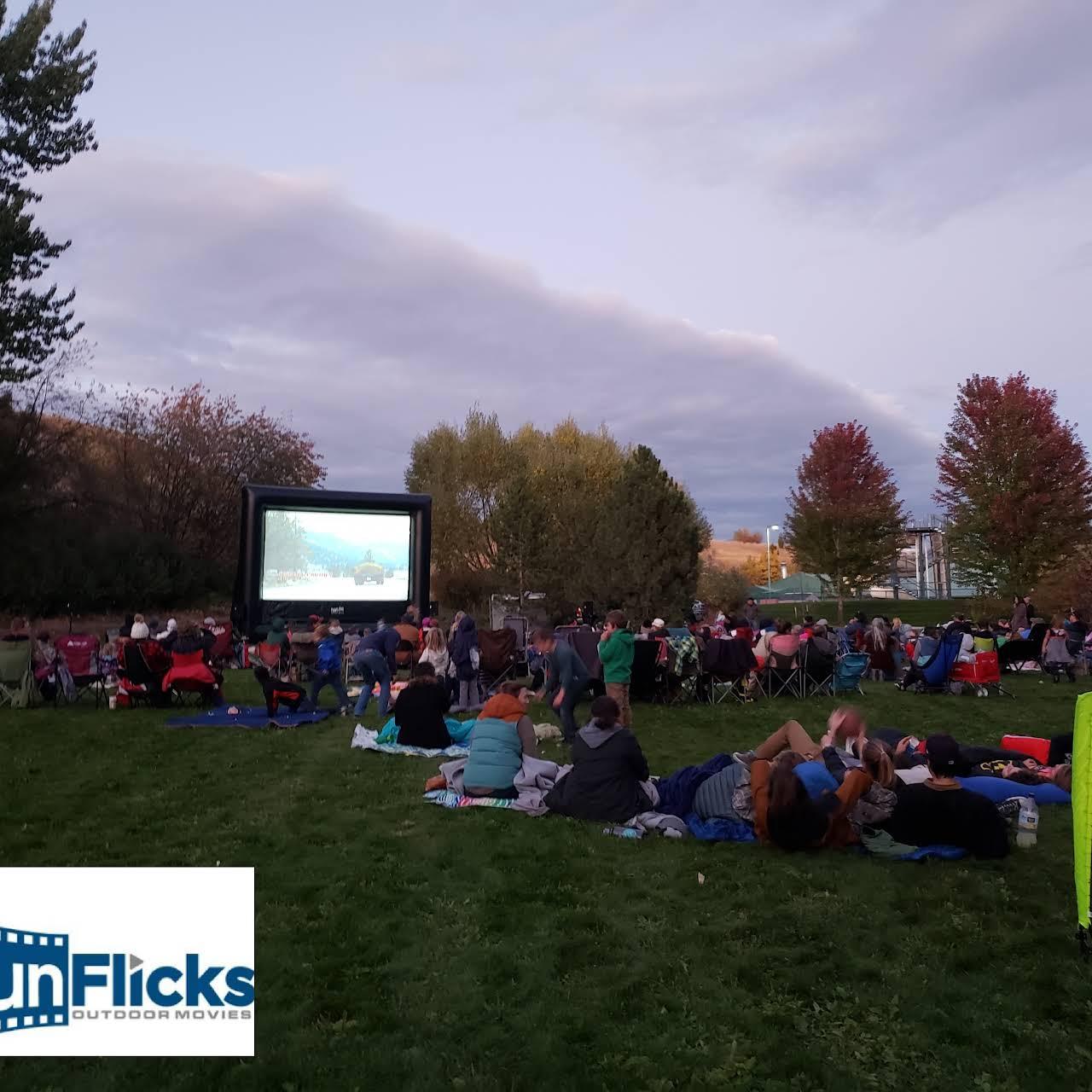 Funflicks Montana Outdoor Movie Screen Rentals Inflatable