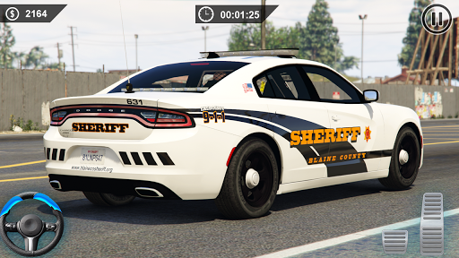 Spooky Stunt Crazy Police Parking 2020 0.1 screenshots 4