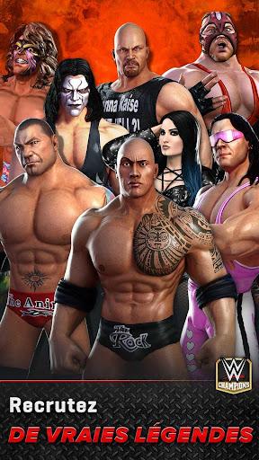 WWE Champions - Jeu de rôle et puzzle gratuit  captures d'écran 4