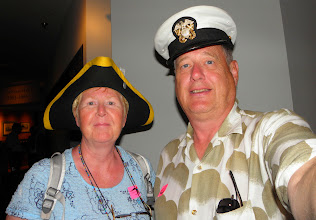 Photo: The First Mate and Captain