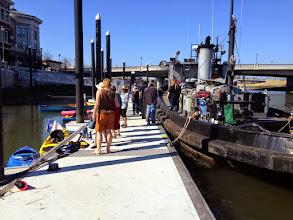 Photo: Back at the Napa dock