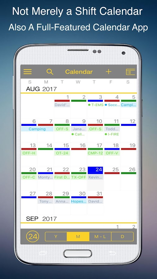 firefighter shift calendar