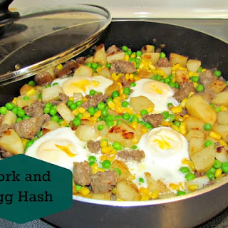 Pork and Egg Hash