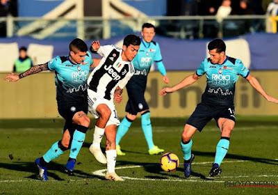 ? Serie A : Face à l'Atalanta de Castagne, Ronaldo a permis à la Juventus d'éviter le pire, Praet et Jordan Lukaku s'imposent