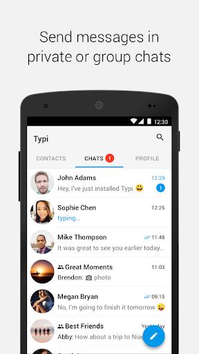 Typi Messenger screenshot 3