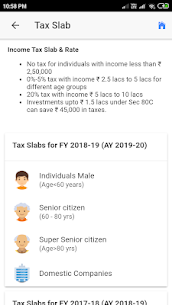 Indian Income Tax Info/Savings/Calculators App Download For Android 3