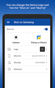 ShotOn for Samsung: Auto Shot auf Foto Screenshot