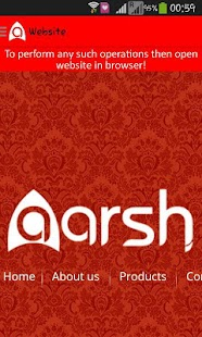 Aarsh- screenshot thumbnail
