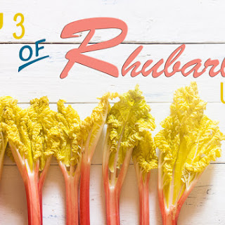 Rhubarb Custard Danish