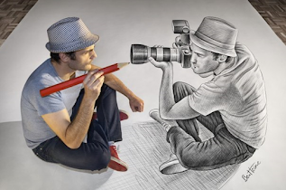 Amazing 3D Art Drawing - screenshot thumbnail 01