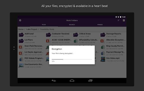 Work Folders Screenshot 9