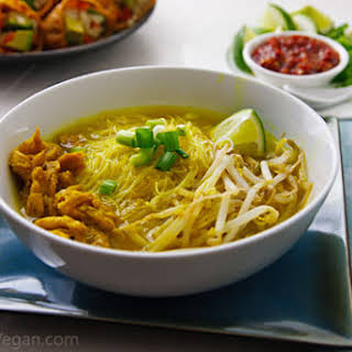 """Javanese-Inspired """"Chicken"""" Soup."""