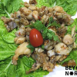 Stir Fried Lemongrass Chili Frog Legs (Ếch Chiên Sả Ớt)