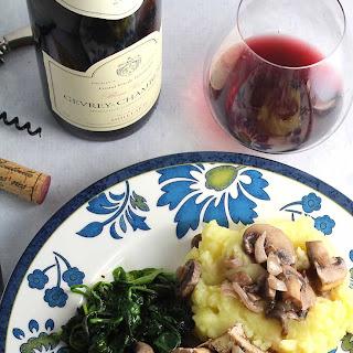 Pork Tenderloin with Mushrooms Recipe