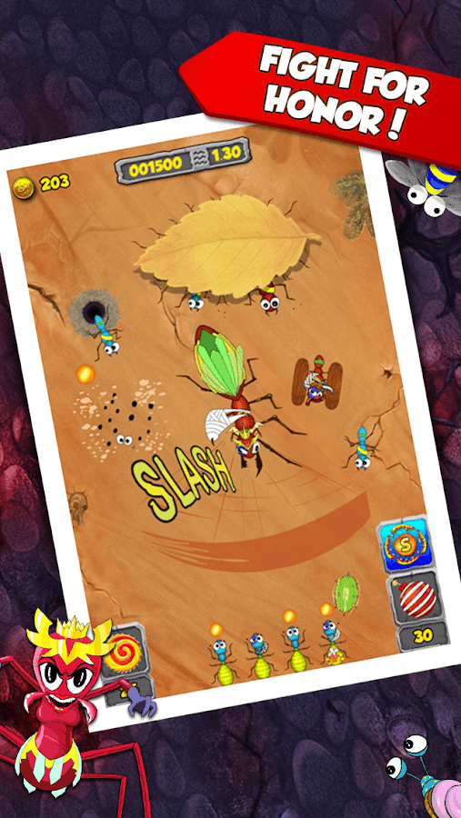 Tap Tap Ants : Battlefield- screenshot