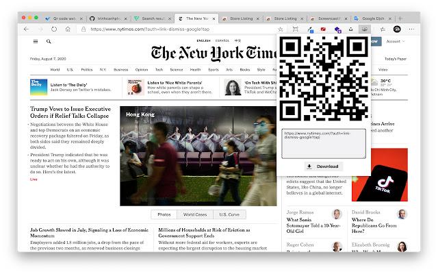 Desktop to Mobile Screen Preview
