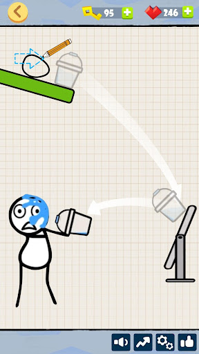 Bad Luck Stickman- Addictive draw line casual game 1.1.2 screenshots 13
