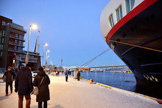 Photo: We arrive in Tromso in early afternoon
