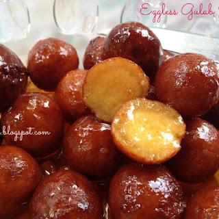 Eggless Gulab Jamun