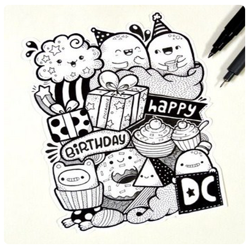 Drawing Doodle Art Step By Step Android Aplikasi Appagg