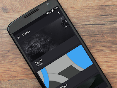 Swift Dark CM / CM13 Theme v3.1.5