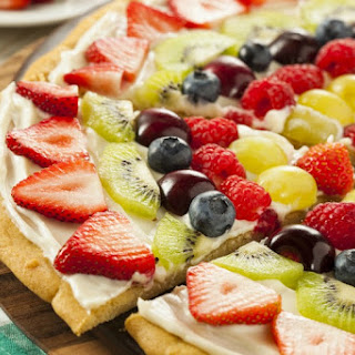 The Best Fruit Pizza Recipe Made From Scratch!