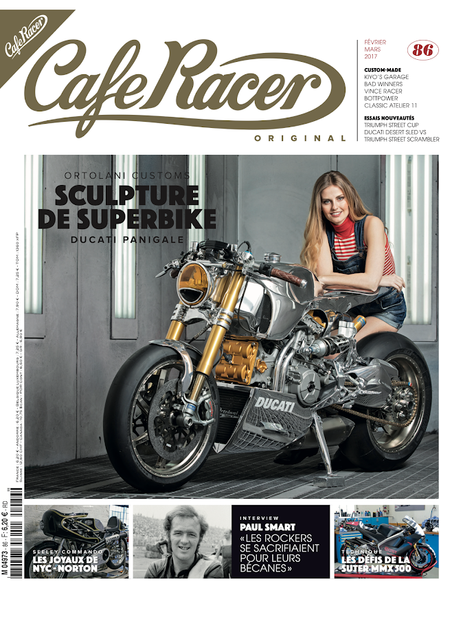 cafe racer magazine france bike gallery. Black Bedroom Furniture Sets. Home Design Ideas