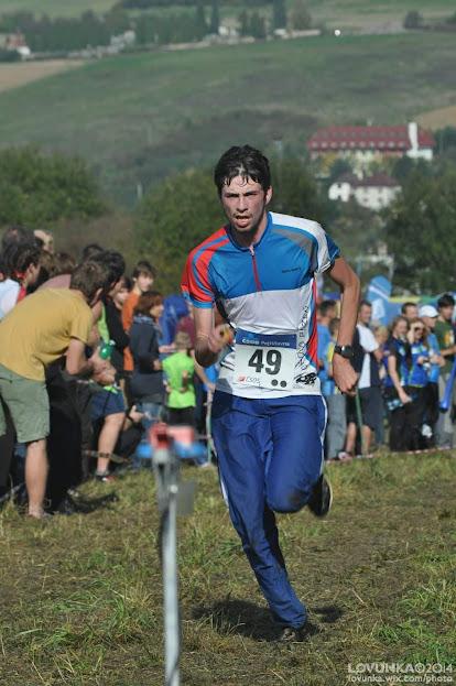běžec hlavní mužské kategorie