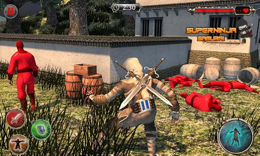 Super Ninja Kungfu Knight Samurai Shadow Battle 3