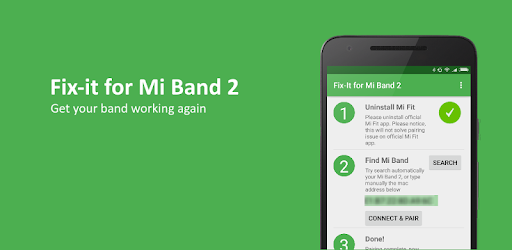 Fix-it for Mi Band 2 - Apps on Google Play