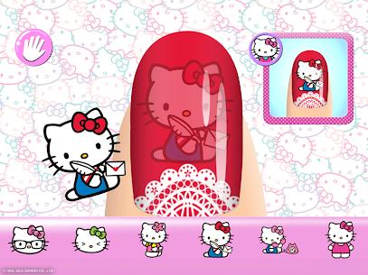 Hello Kitty Nail Salon 8