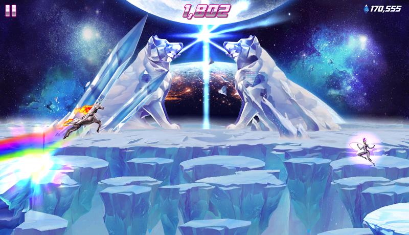 Robot Unicorn Attack 2 Screenshot 15
