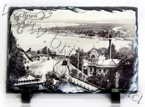 Photo: Сувенирный камень с фото старого Киева