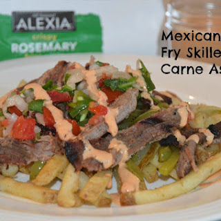 Mexican Style Fry Skillet with Carne Asada