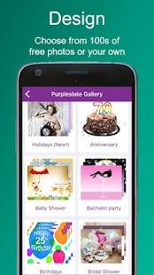 Invitation maker text rsvp purpleslate invites android apps invitation maker text rsvp purpleslate invites screenshot thumbnail stopboris Gallery
