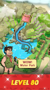 Stone Park: Prehistoric Tycoon MOD APK 1.4.2 (Unlimited Gold Coins) 4