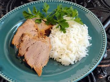 Sweet & Spicy Pork Tenderloin