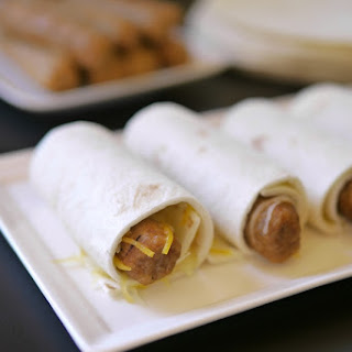 Breakfast Sausage Wraps.