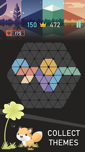 Trigon : Triangle Block Puzzle Game 1.8.3 gameplay | by HackJr.Pw 3
