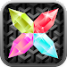 Zircon - crystal puzzle icon