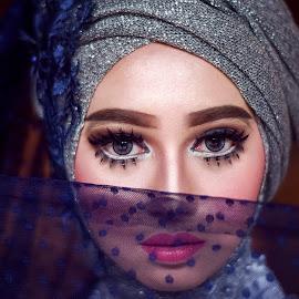 Beauty Hijab by Achmad Sutanto - People Portraits of Women ( #beauty, #model, #women, #hijab )