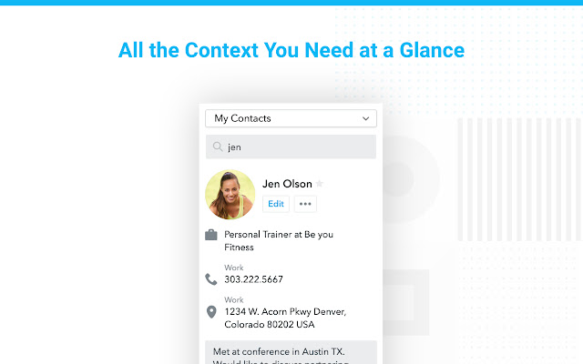 Contacts+ for Gmail