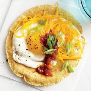 Smoky Egg and Cheese Tostada