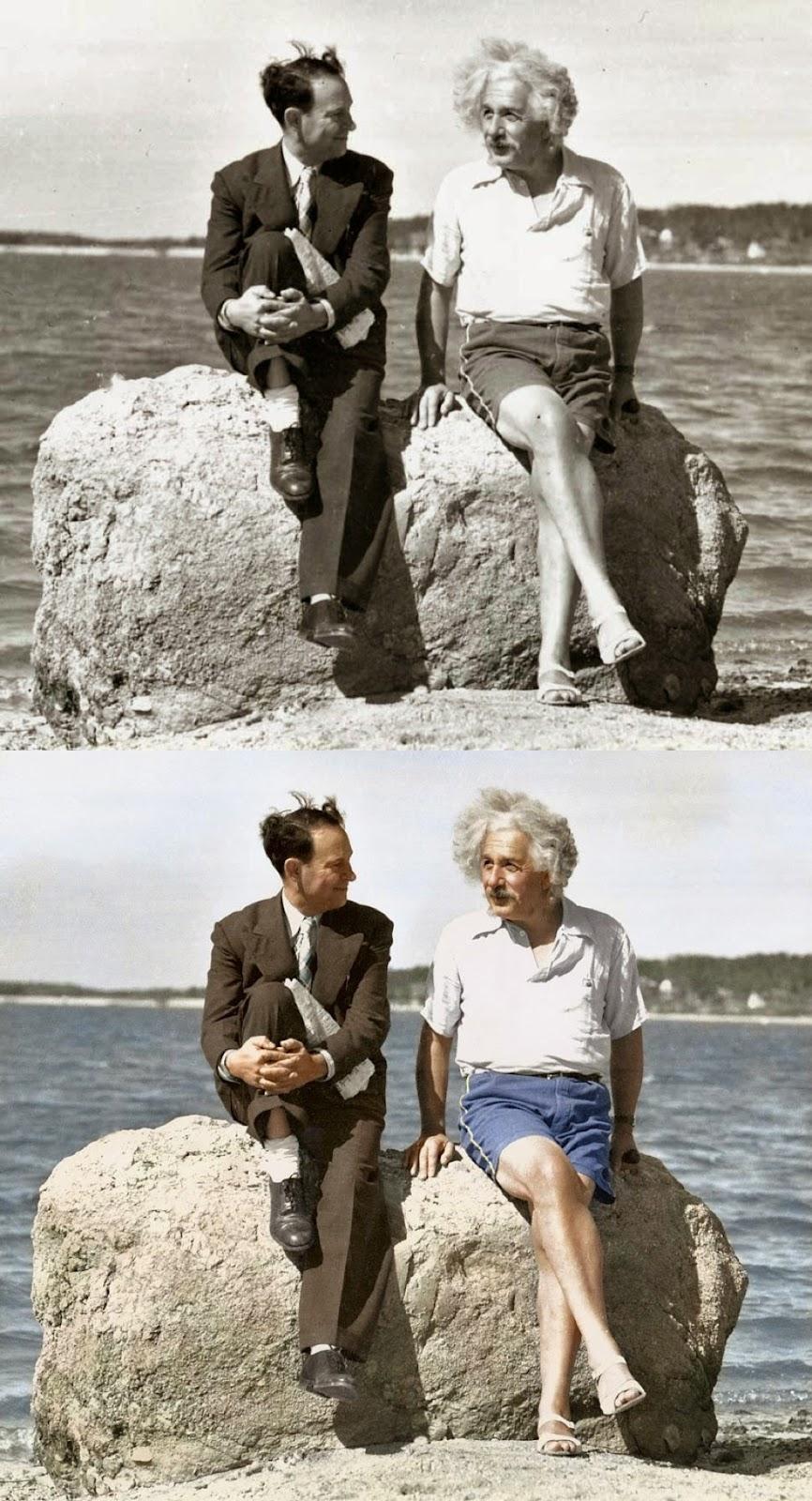 Albert Einstein, Summer,Nassau Point