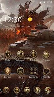 Tank theme - náhled