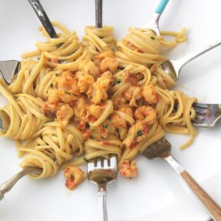 Emeril's Crawfish Cream Pasta Bites