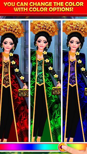 Indonesian Doll Fashion Salon Dress up & Makeover 2.0 screenshots 10