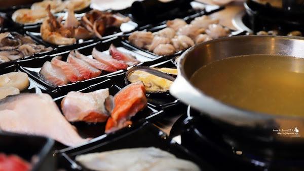 """les Beautés 漂亮火鍋 近百道新鮮食材從陸上吃到海上連""""草""""系植物都不要放過 538元/吃到飽"""
