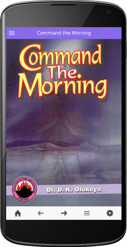 Command The Morning- screenshot